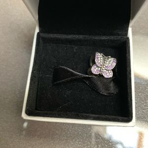 Authentic butterfly pandora charm